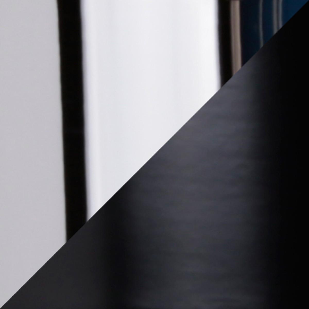 Top Light Puk Spot Tischstrahler, schwarz / Chrom