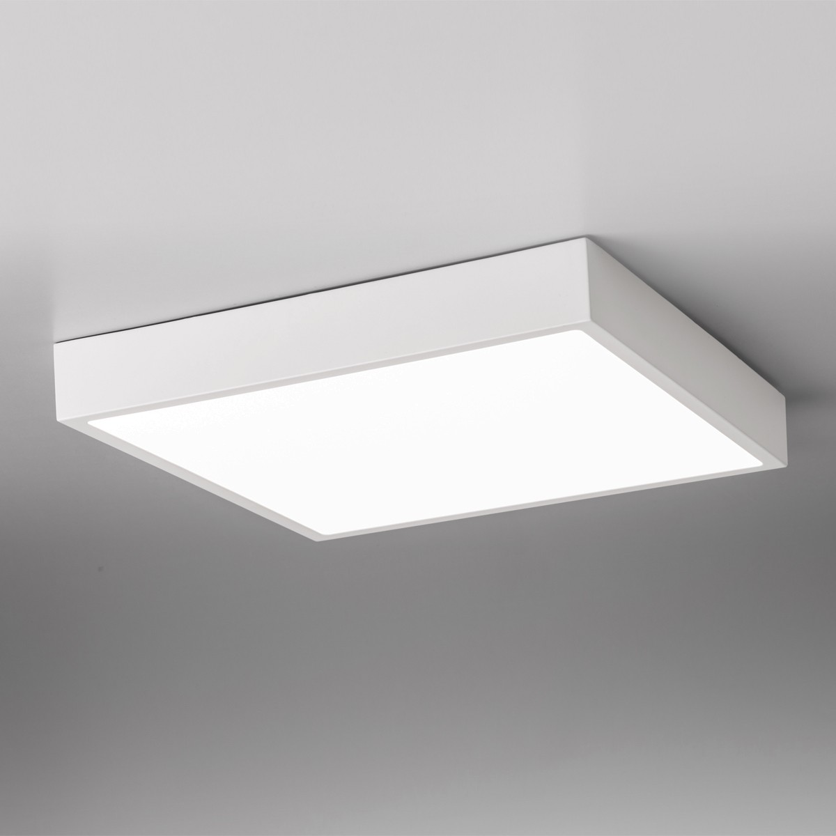 Lupia Licht Venox Deckenleuchte, 30 x 30 cm, weiß