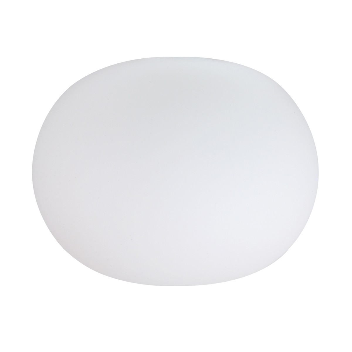 Flos Glo-Ball W Wandleuchte, Ø: 33 cm, weiß