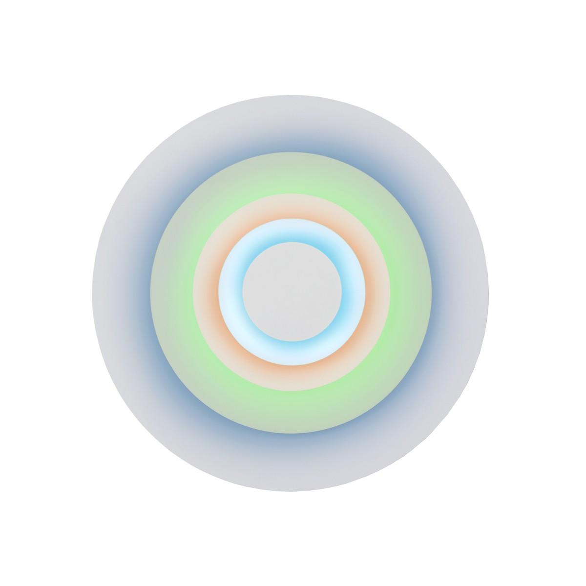 Marset Concentric M Wandleuchte, Minor (blau/braun/mint)