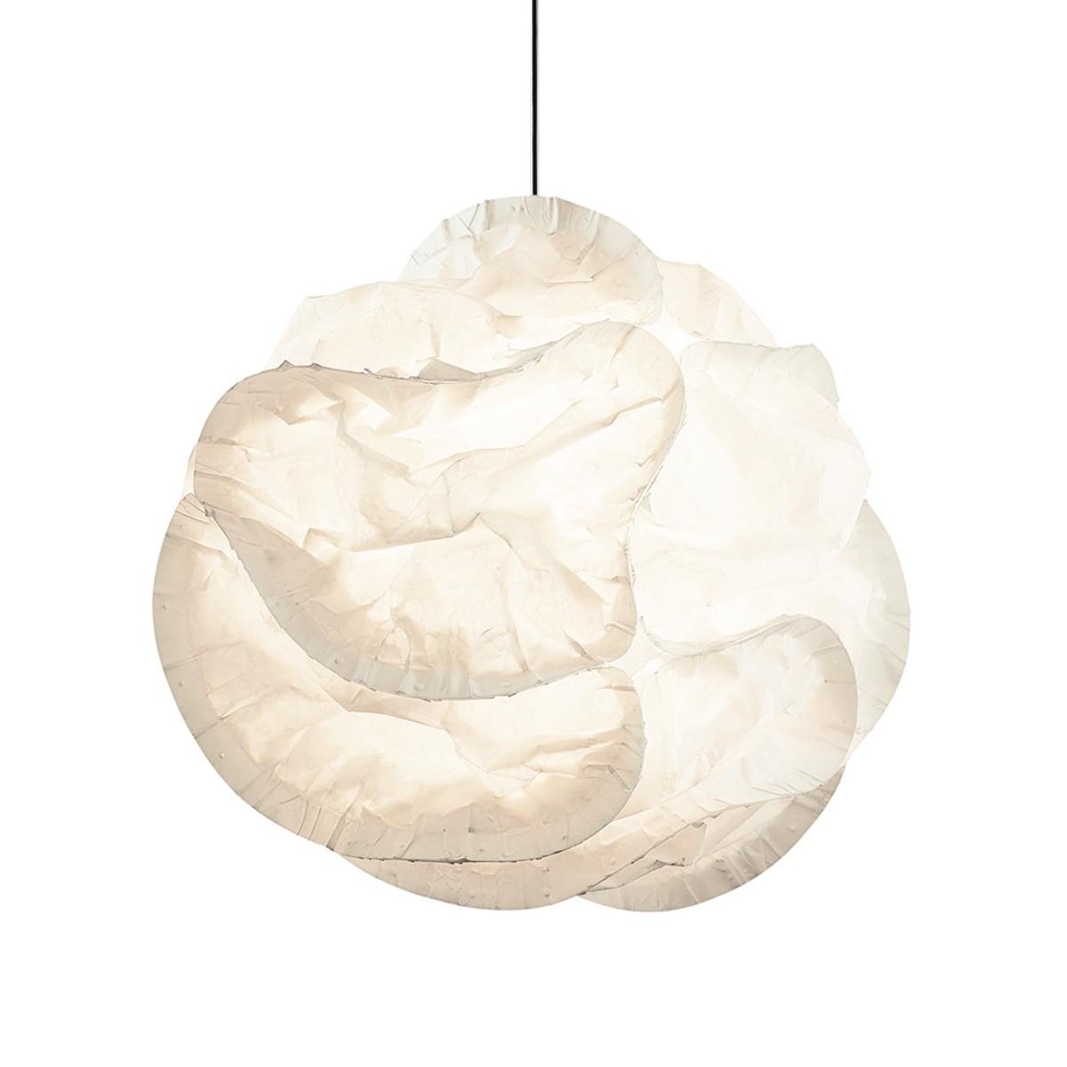 Belux Cloud Pendelleuchte Halo, Ø: 60 cm, weiß