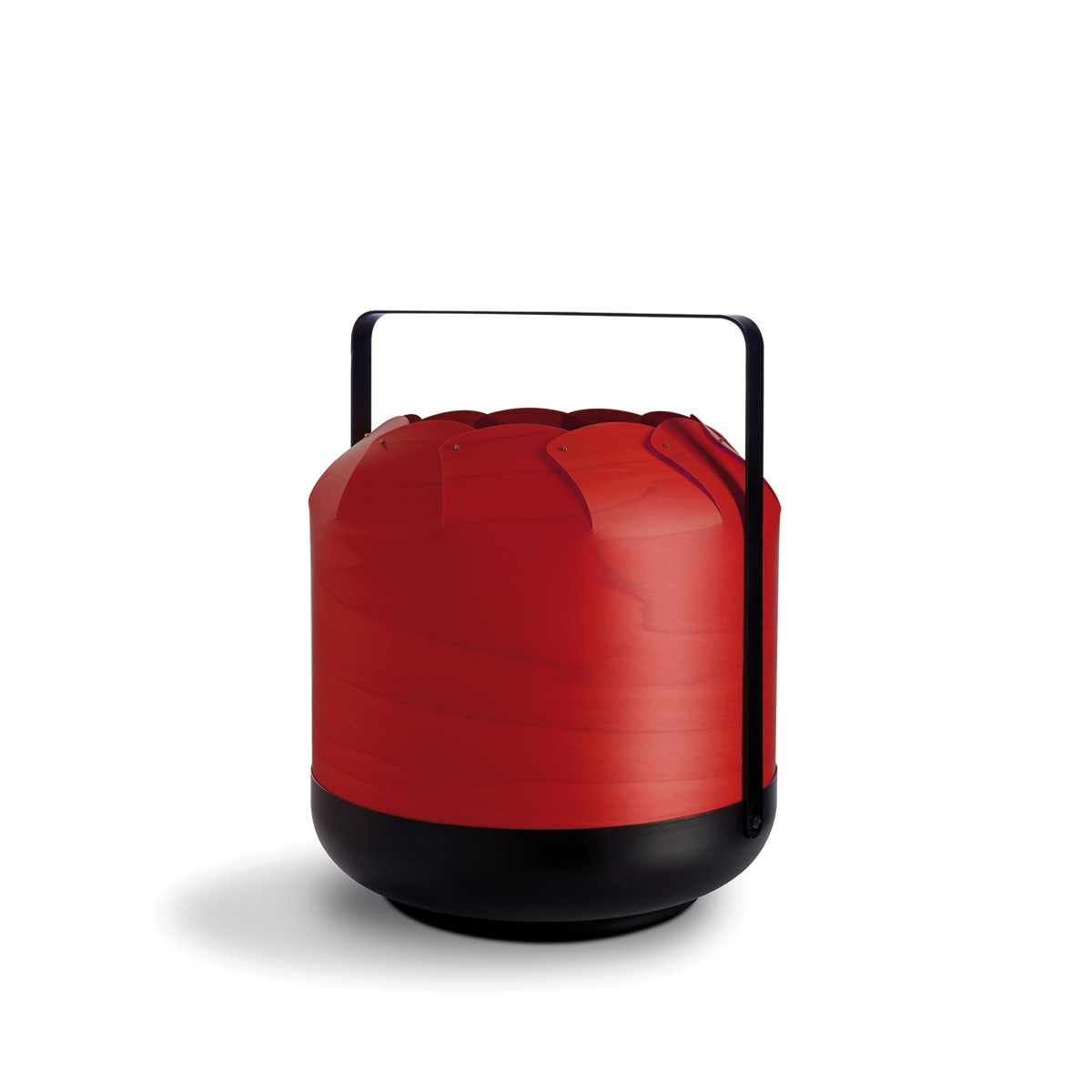 LZF Lamps Chou Short Small Tischleuchte, rot