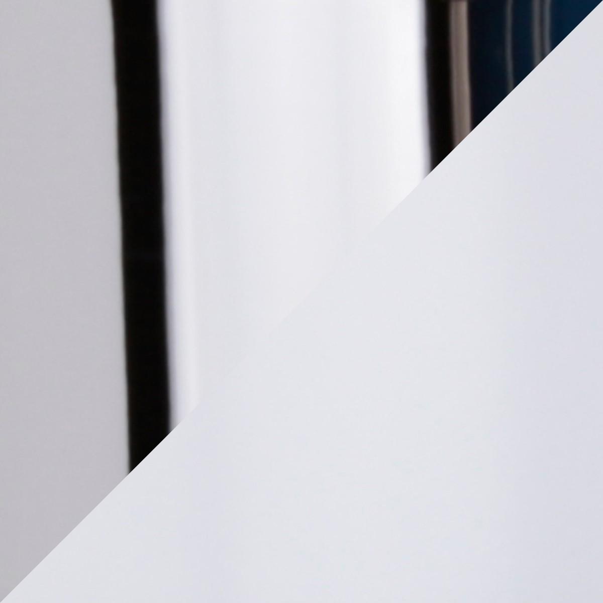 Top Light Puk Spot LED Tischstrahler, weiß / Chrom