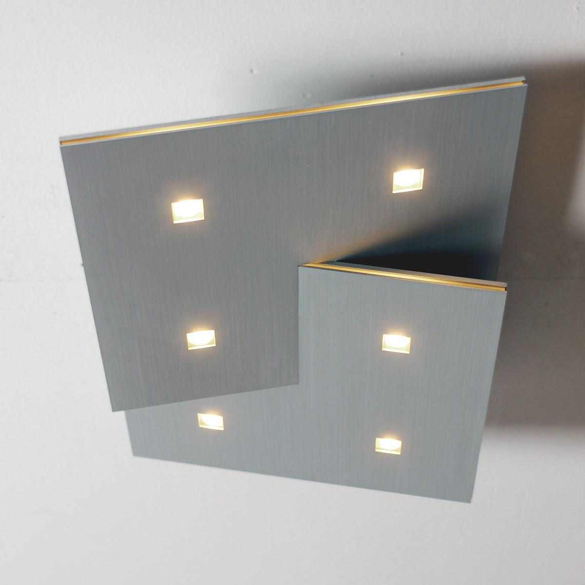 Bopp led deckenleuchte extra 45 x 45 preise und angebote for Moderne deckenlampe