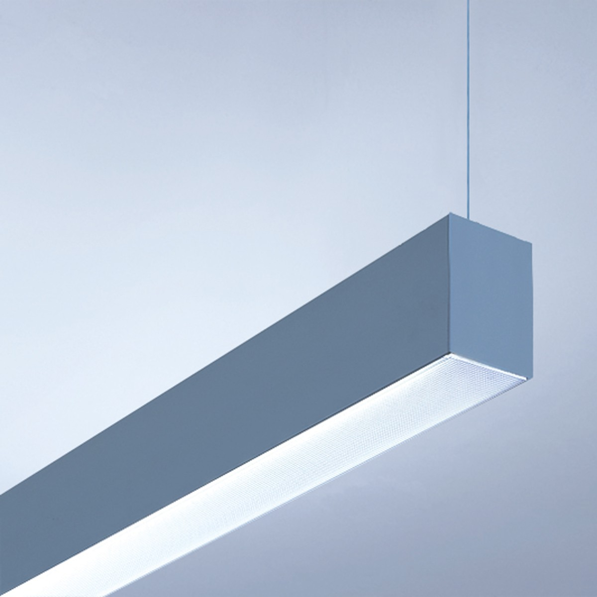 Lightnet Matric-R3 Pendelleuchte, Länge: 118,2 cm, Aluminium natureloxiert