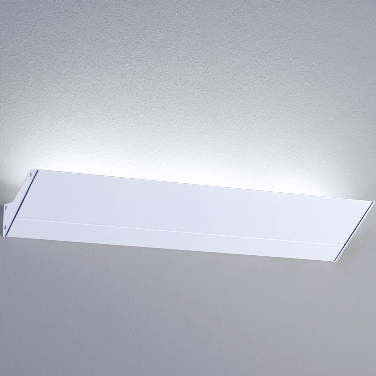 Milan Mini Neva Wandleuchte LED, 3-flg., weiß lackiert