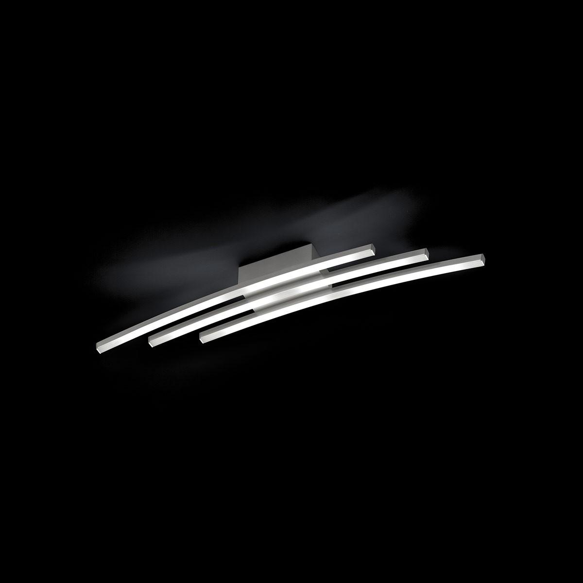 Grossmann Piano LED Deckenleuchte, Aluminium, 10 x 79,4 cm