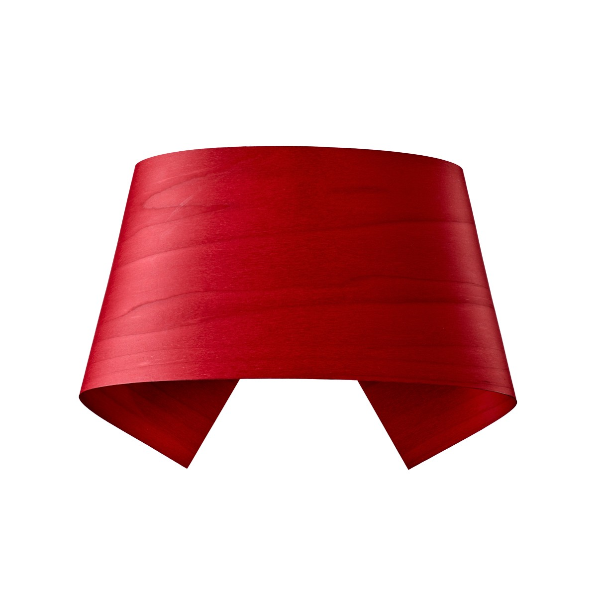 LZF Lamps Hi-Collar Wandleuchte, rot