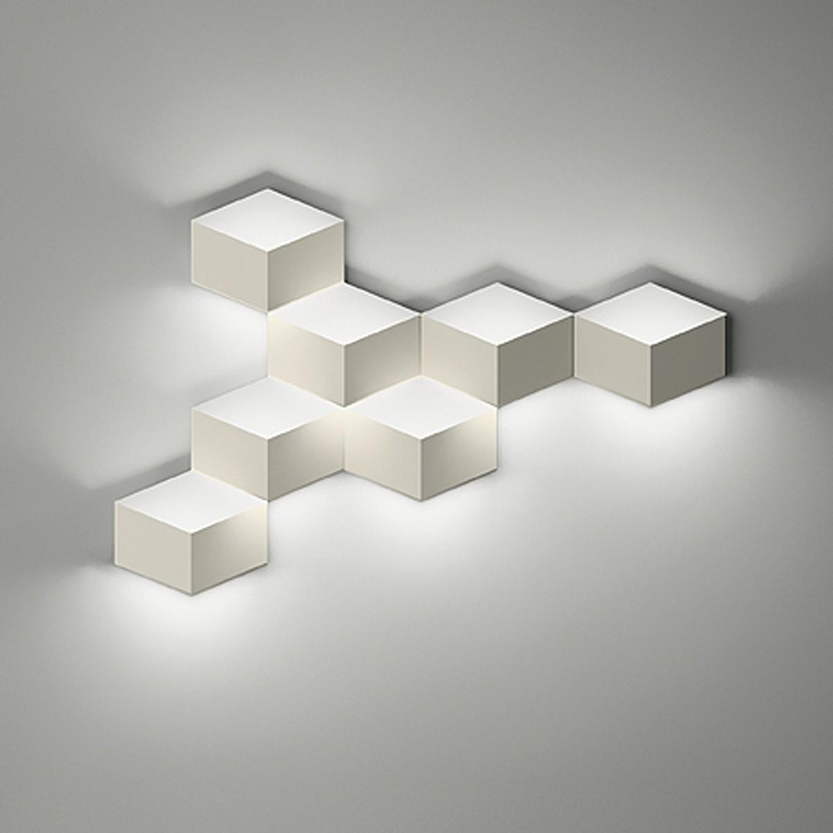 Vibia Fold 4207 Wandleuchte, cremeweiß matt