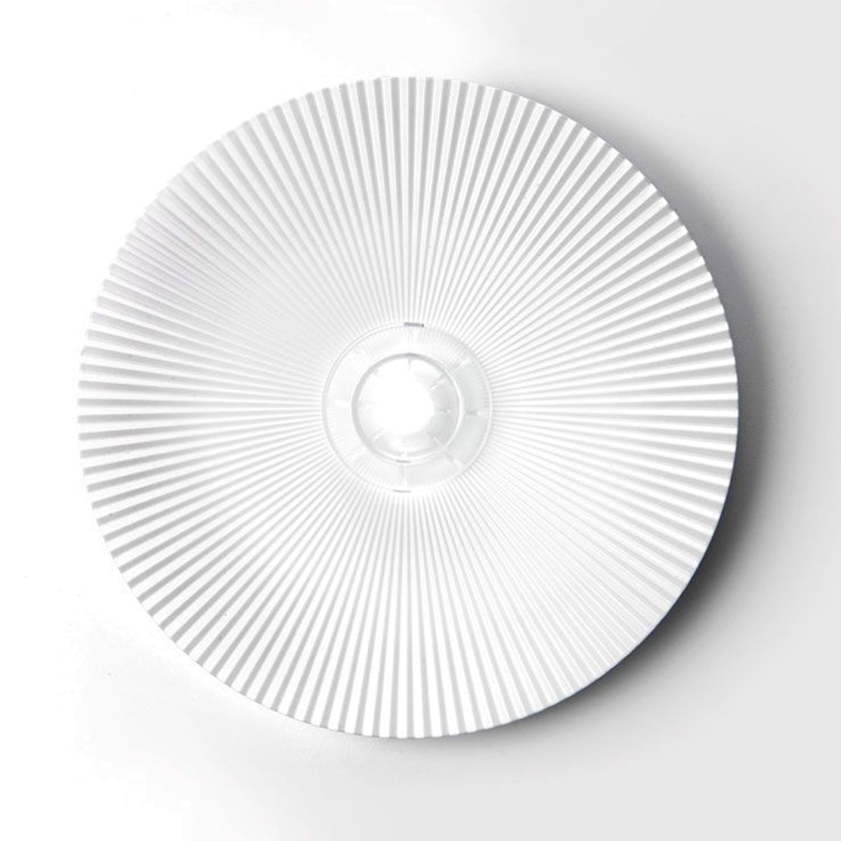 Milan Sol LED Wandleuchte, weiß lackiert
