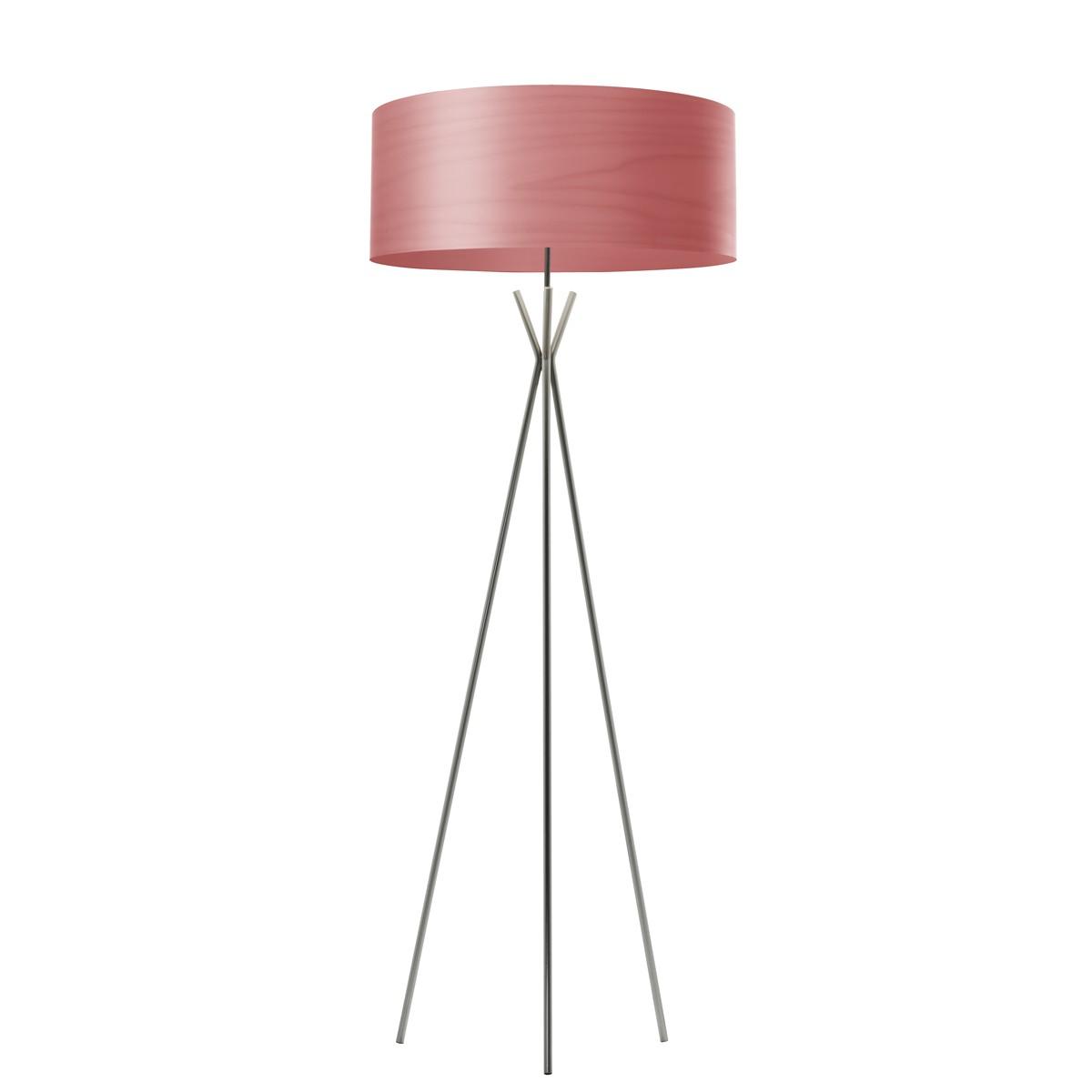 LZF Lamps Cosmos Stehleuchte, Schirm: pink