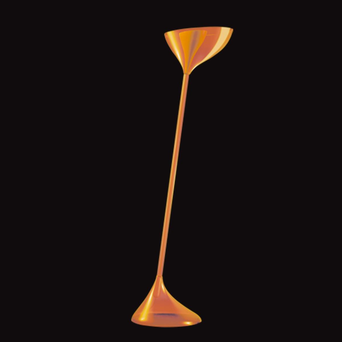 Kundalini Floob Stehleuchte, orange
