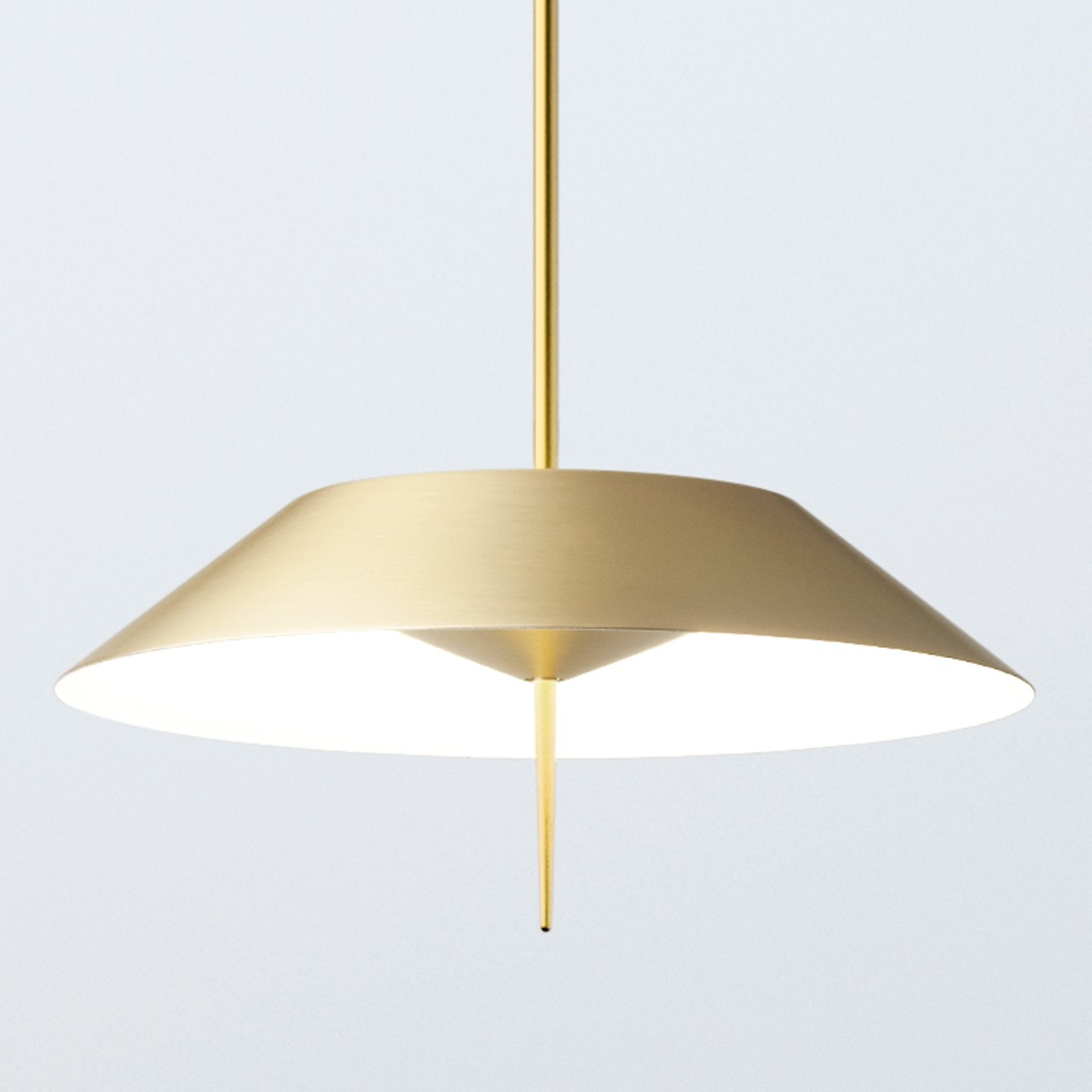 Vibia Mayfair 5525 Pendelleuchte, Gold satiniert matt