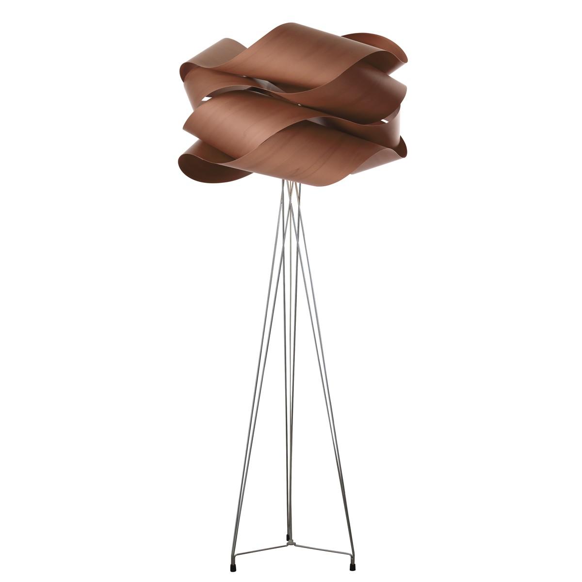 LZF Lamps Link Stehleuchte, Schirm: schokolade
