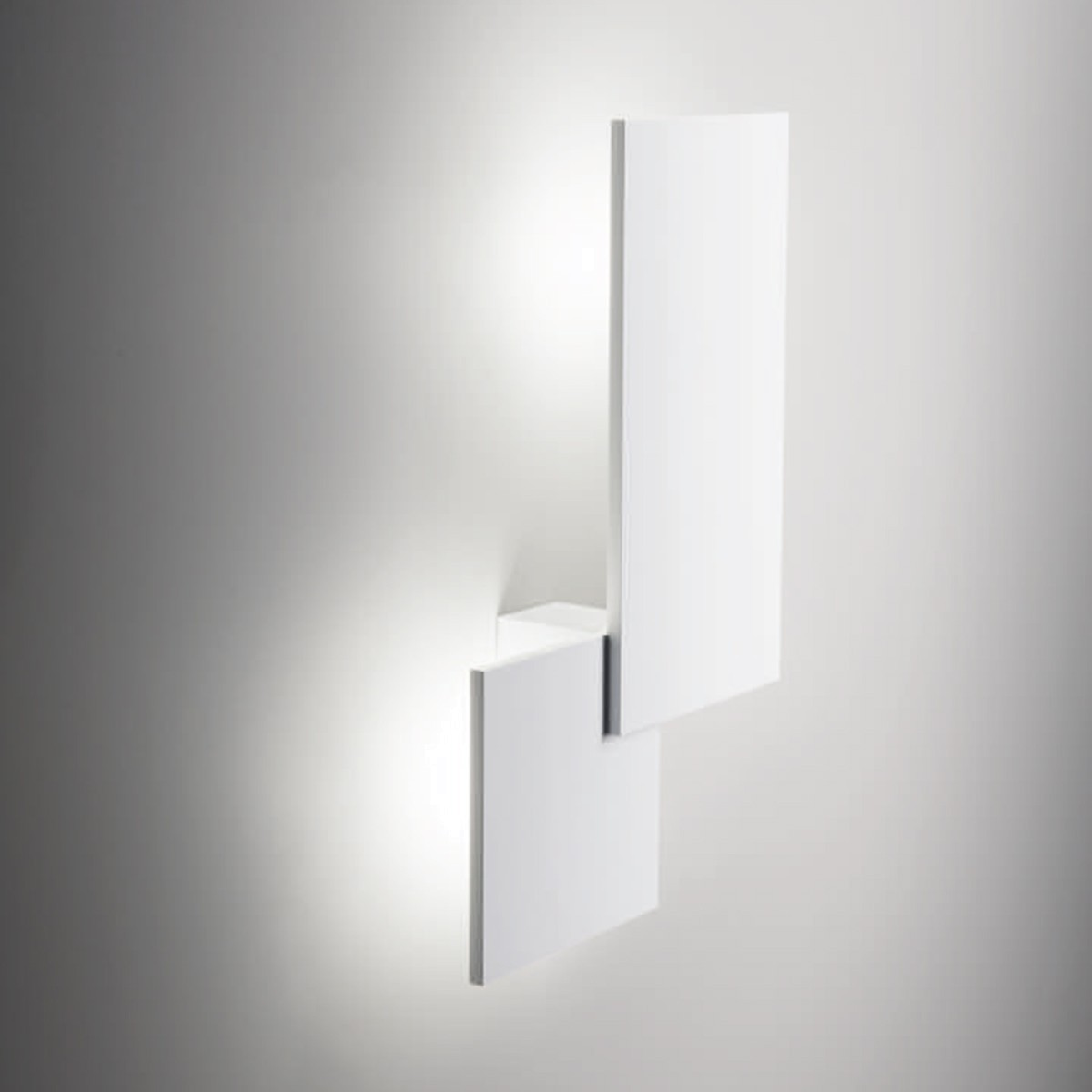 Studio Italia Design Puzzle Square & Rectangle Wand - / Deckenleuchte, weiß matt, 3000° K