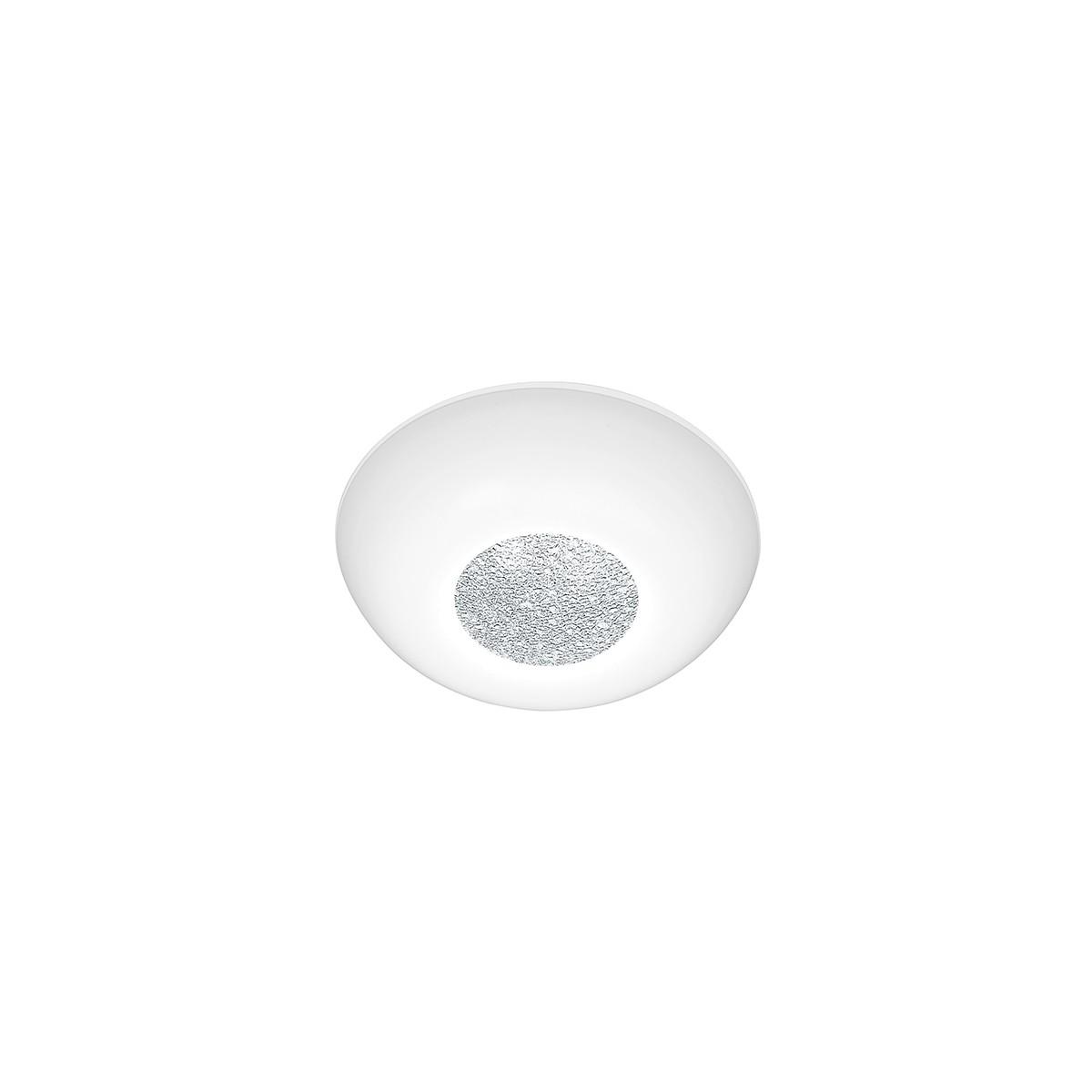 Bankamp Mars Deckenleuchte, Ø: 32 cm, Glas opalweiß