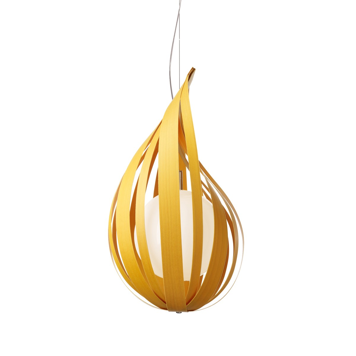 LZF Lamps Raindrop Medium Pendelleuchte, gelb
