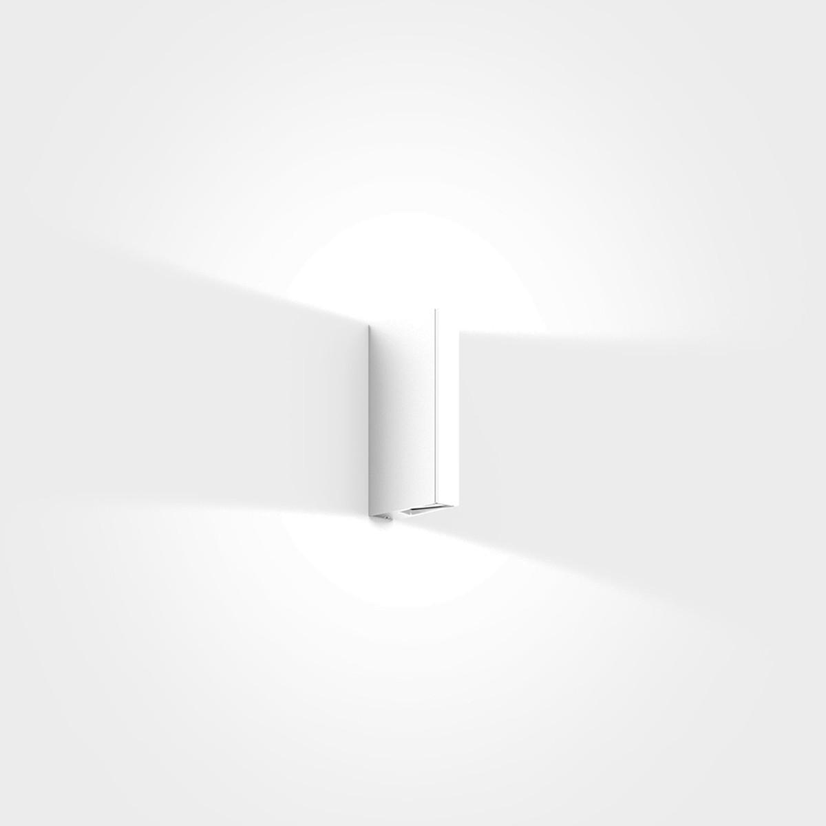 IP44.de Gap Y Außenwandleuchte, pure white (weiß)