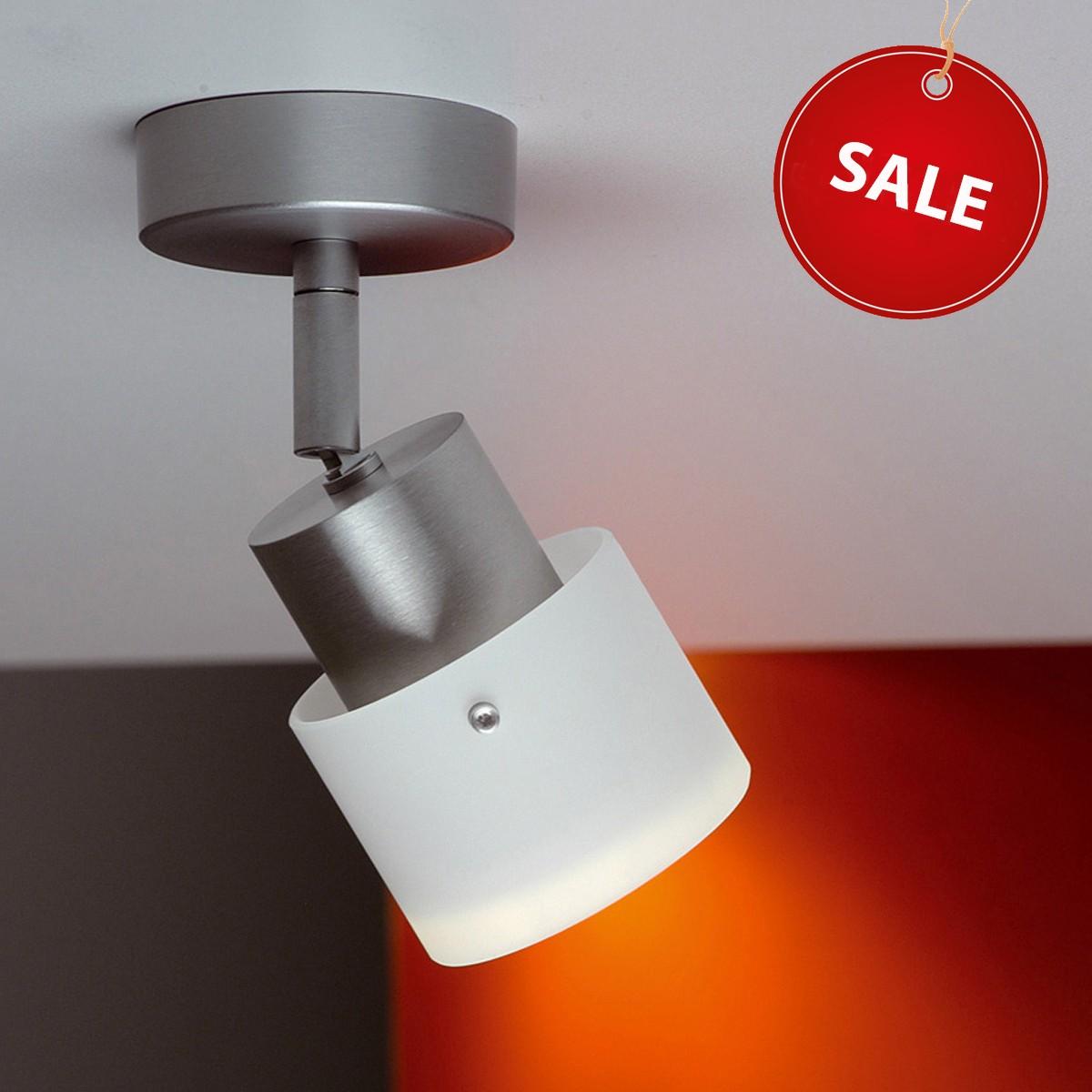 Casablanca Beamy Deckenleuchte %Sale%, Aluminium gebürstet