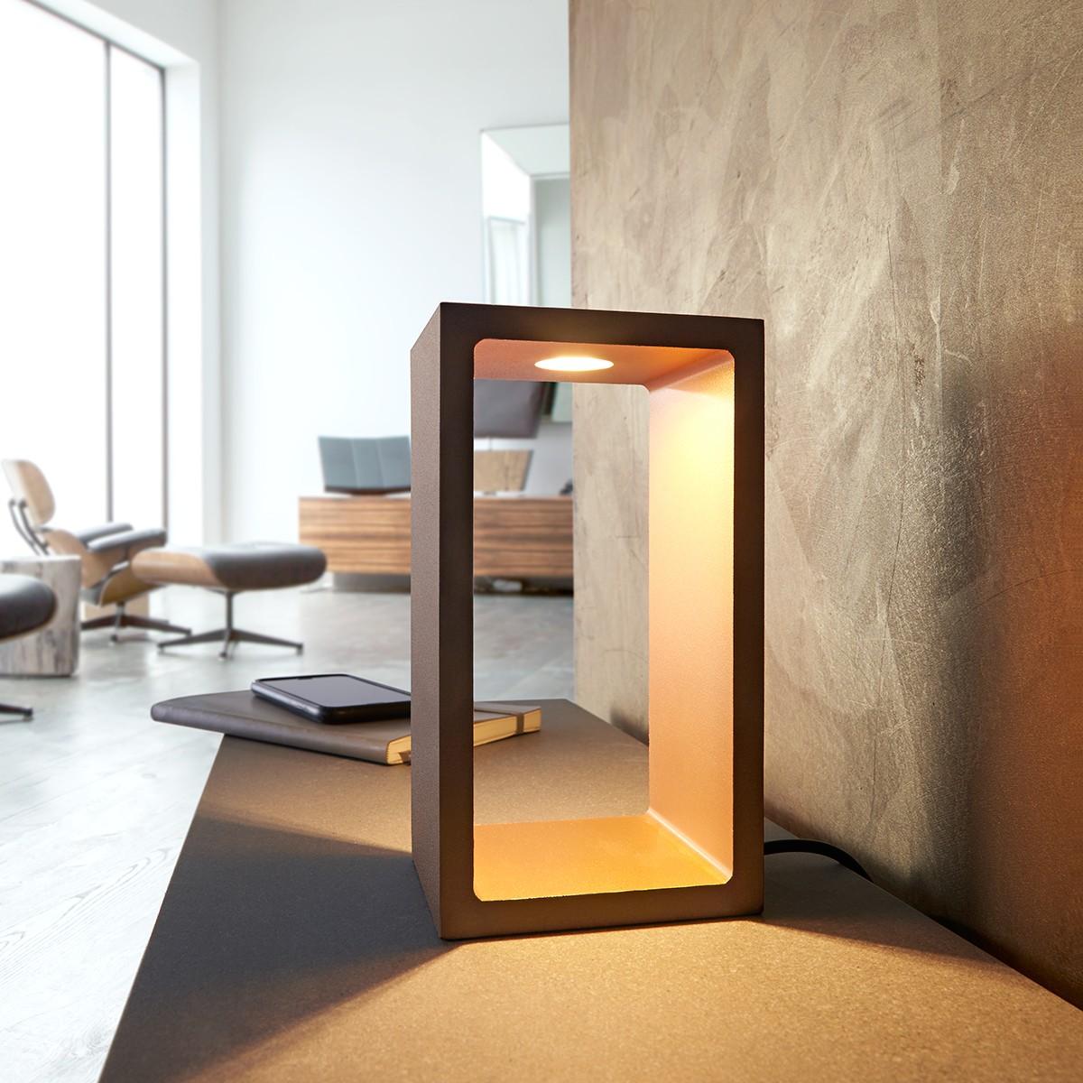MyLight Corridor Tischleuchte, bronze - Gold