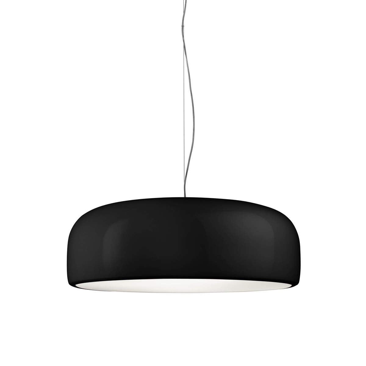 Flos Smithfield S LED Pendelleuchte, schwarz