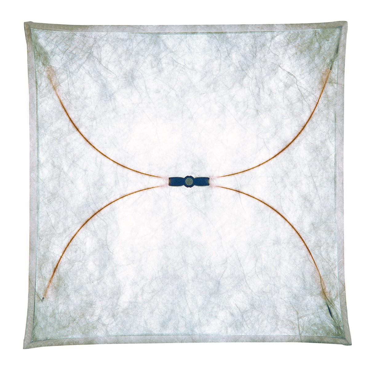 Flos Ariette Wand- / Deckenleuchte, 130 x 130 cm, Stoff