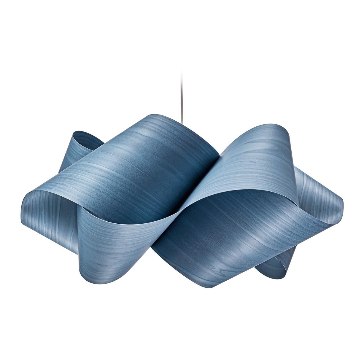 LZF Lamps Swirl Large Pendelleuchte, blau