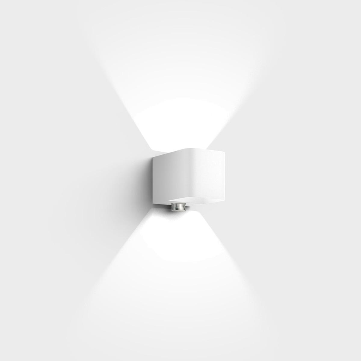 IP44.de Intro Control Außenwandleuchte, pure white (weiß)