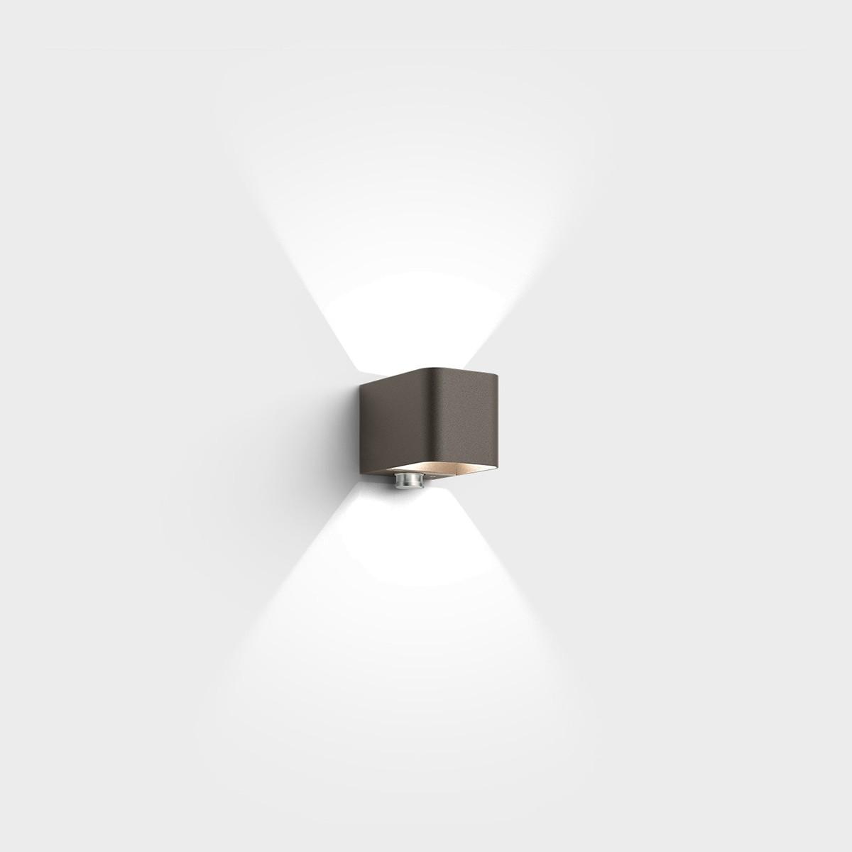IP44.de Intro Control Außenwandleuchte, cool brown (braun)