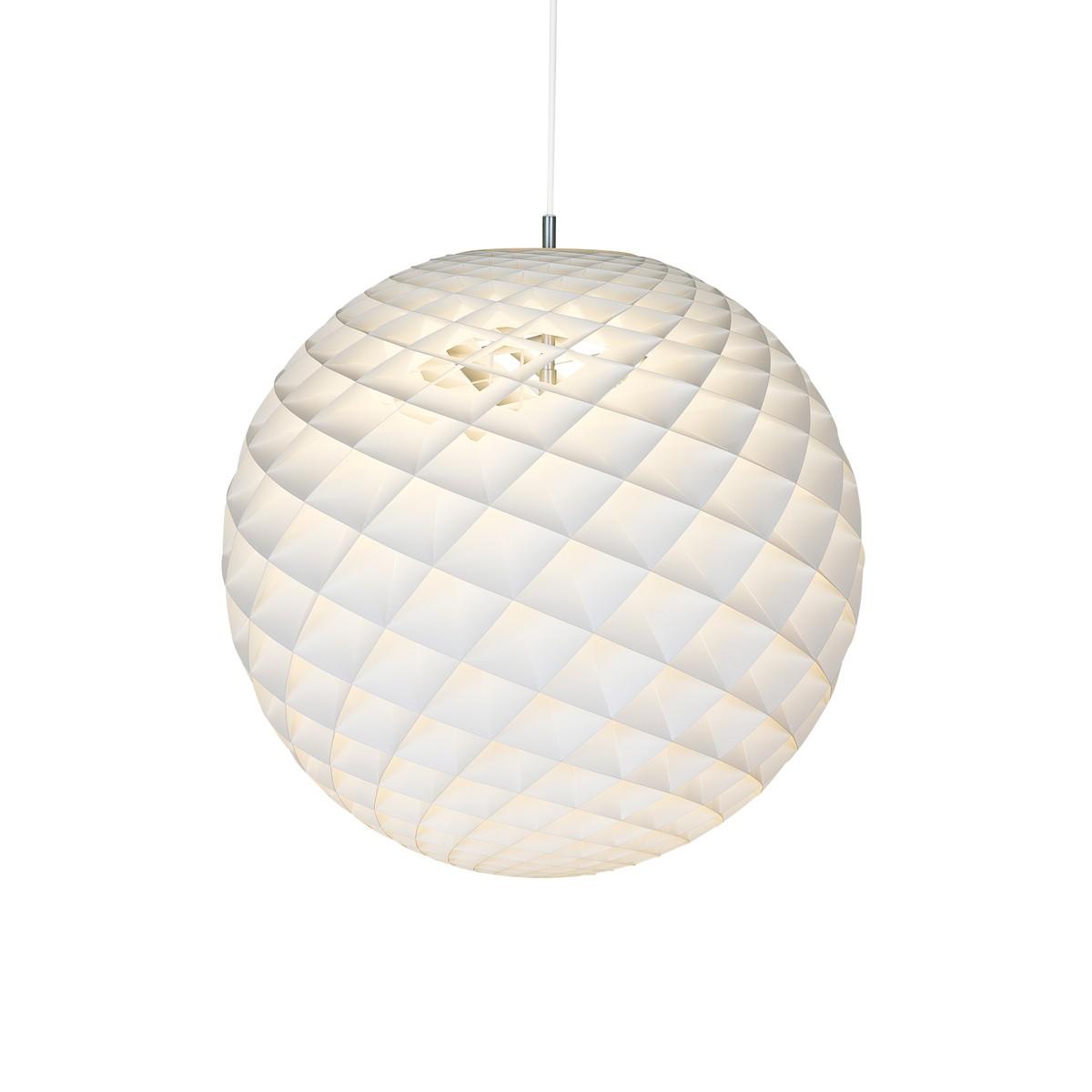 Louis Poulsen Patera LED Pendelleuchte, Ø: 45 cm, 2700 K, weiß matt