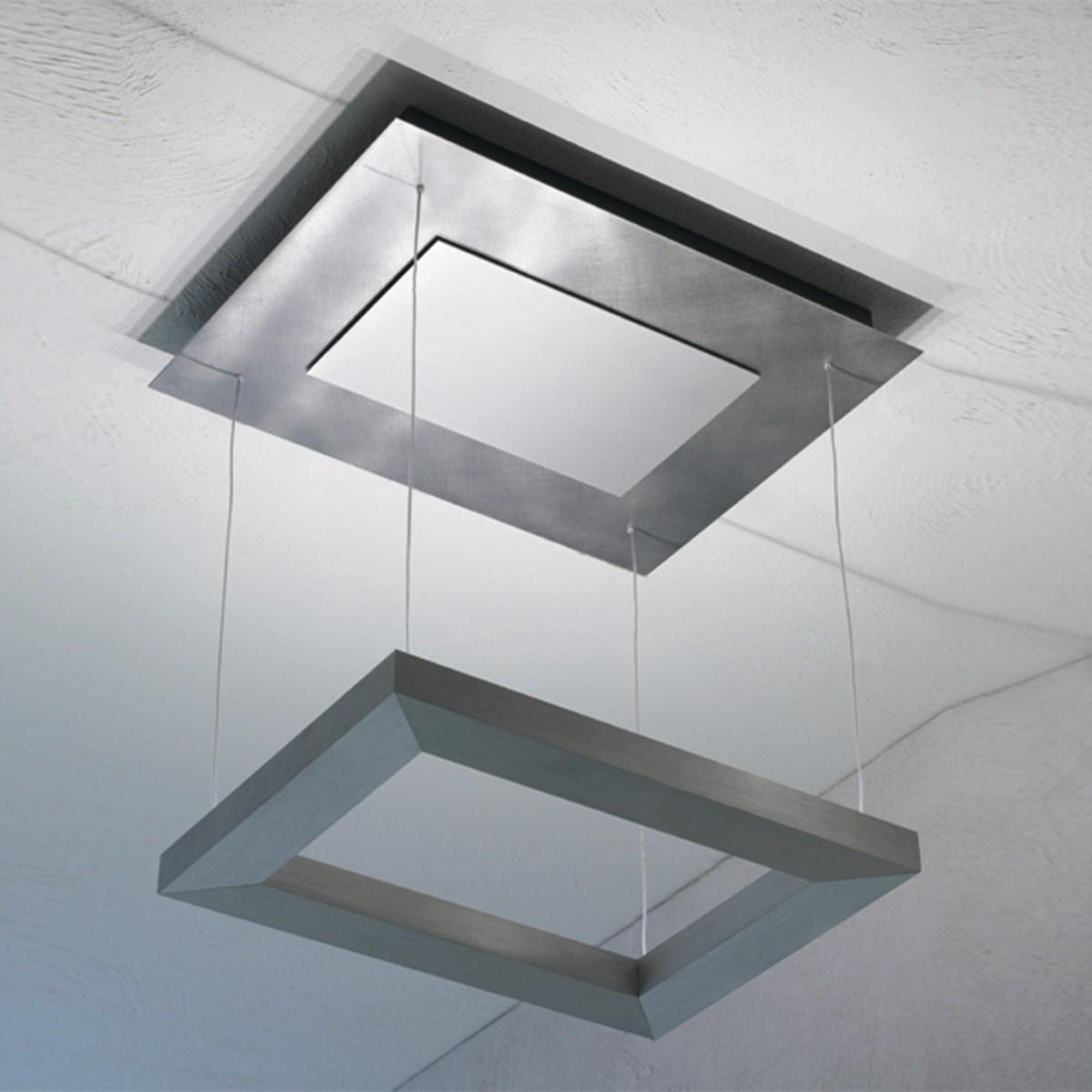 Escale Della Luna Deckenleuchte LED, Aluminium eloxiert
