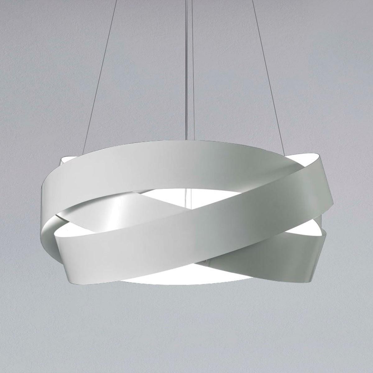 MARCHETTI Pura S60 LED Pendelleuchte, weiß