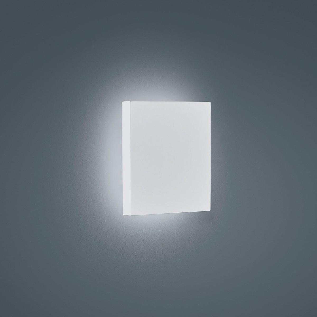 Helestra Air LED Außenwandleuchte, weiß matt