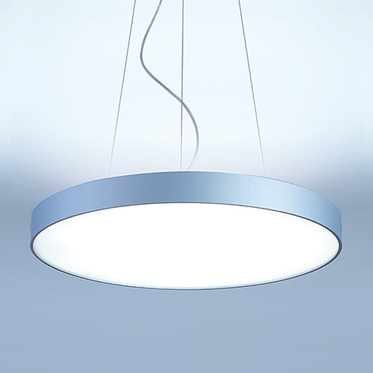 Lightnet Basic-P1 Pendelleuchte, Ø: 40 cm, Silber matt