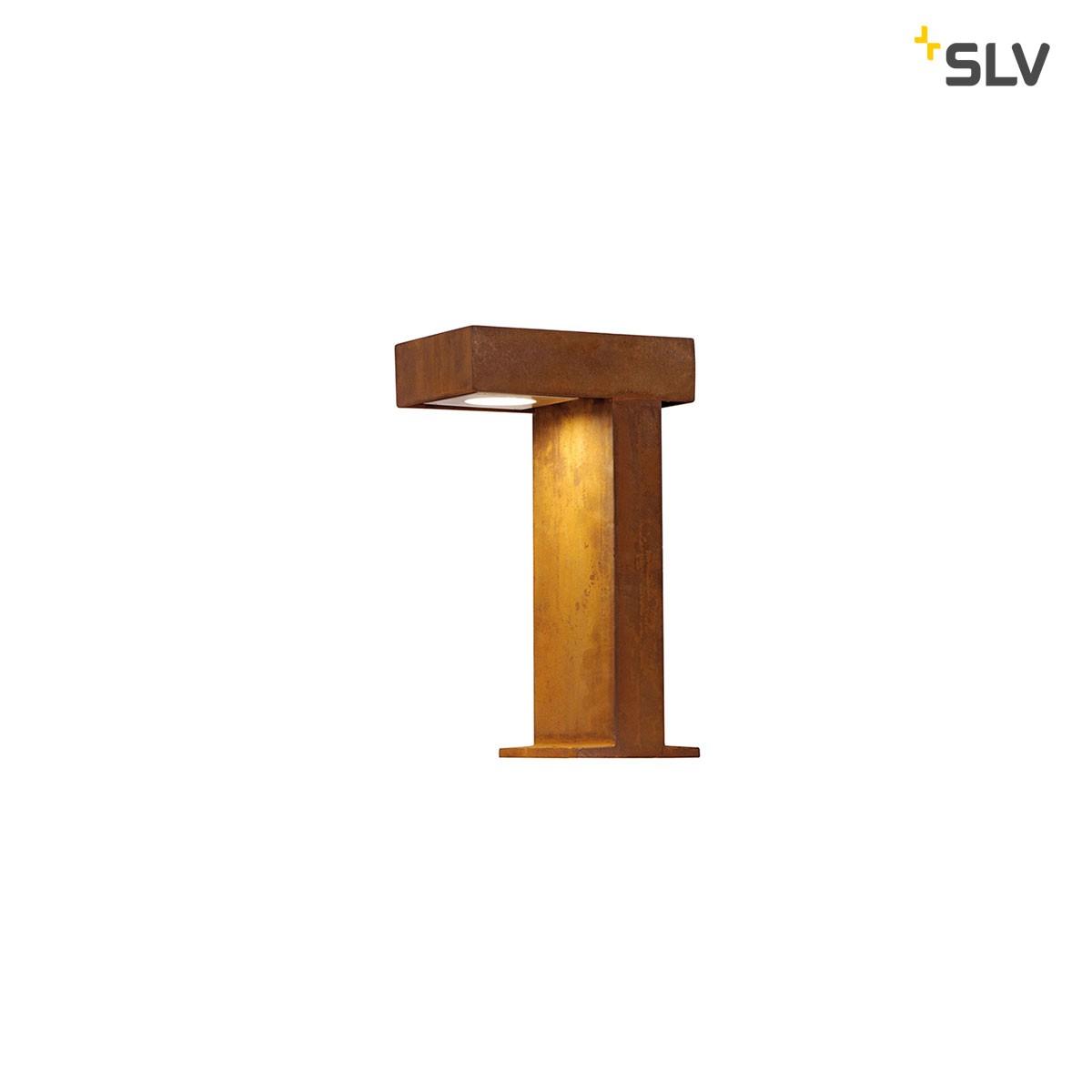 SLV Rusty Pathlight Außenstehleuchte, Eisen gerostet