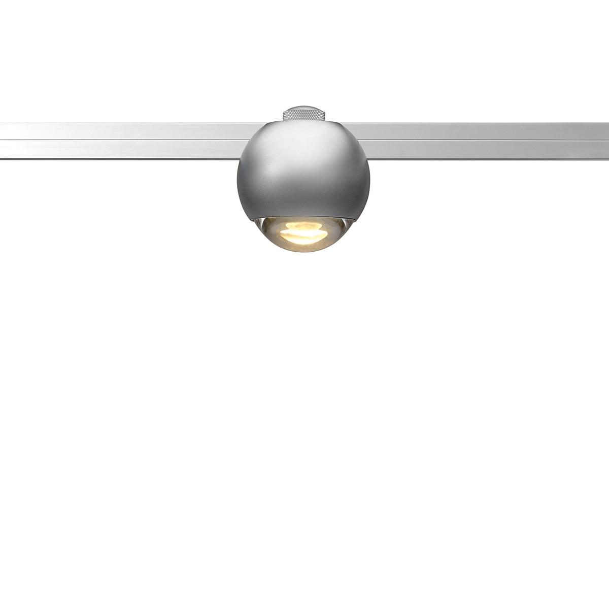 Oligo CHECK-IN Sphere LED Strahler, Chrom matt
