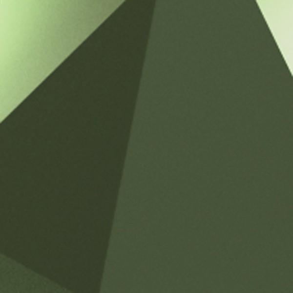 Vibia Origami 4504 Wandleuchte, 2-flg., rostgrün