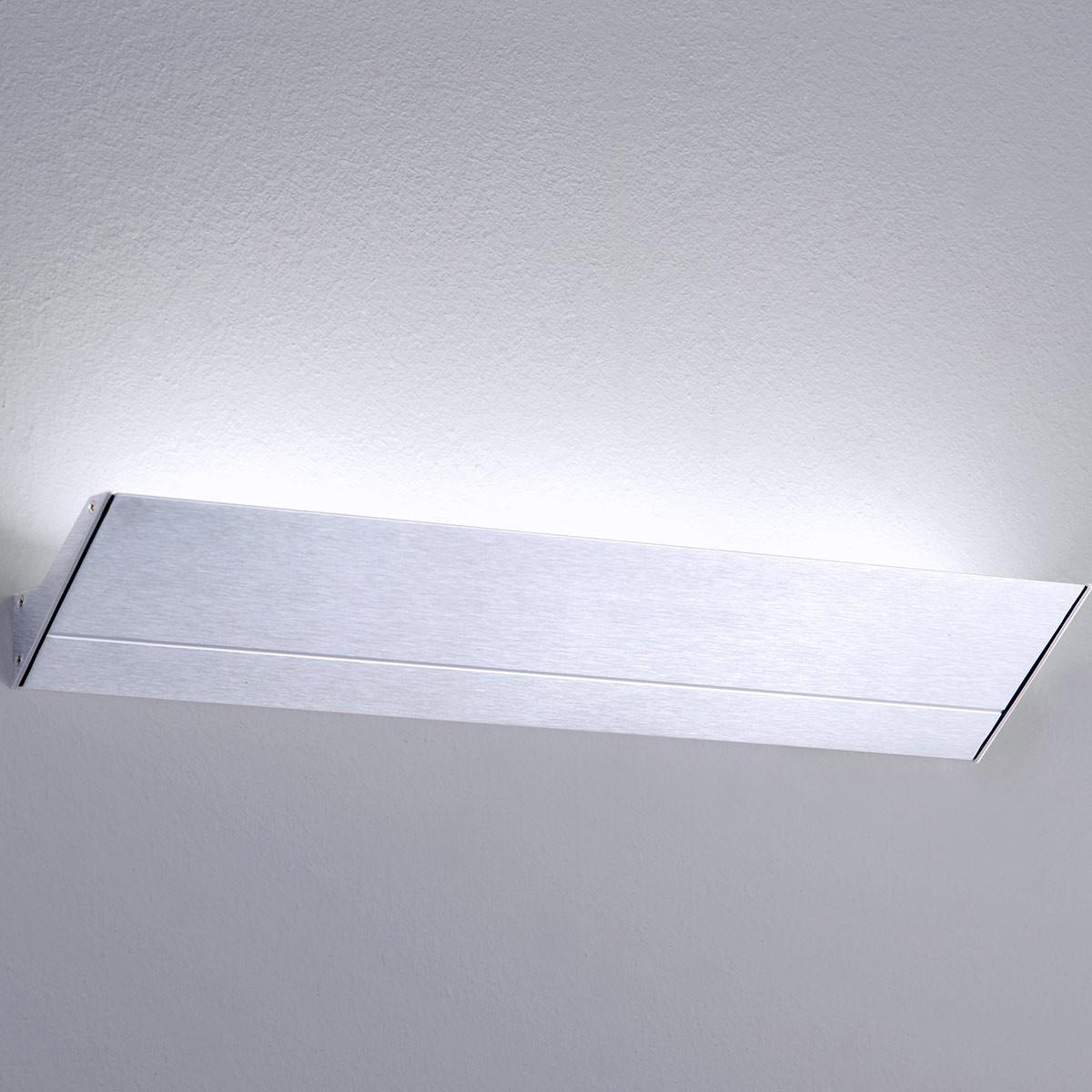 Milan Mini Neva Wandleuchte LED, 3-flg., Alu satiniert