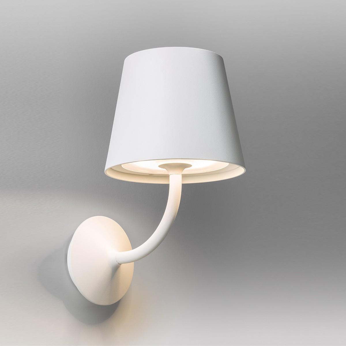 Lupia Licht Visor Außenwandleuchte, weiß