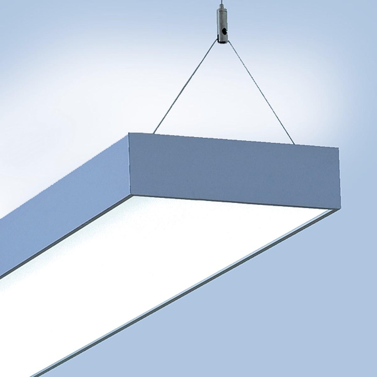 Lightnet Cubic-P1 Pendelleuchte, Länge: 296 cm, Aluminium natureloxiert
