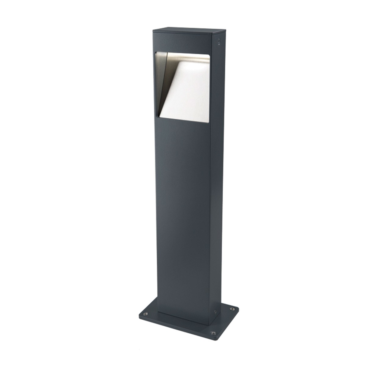 Heibi Strato Wegeleuchte, grau, Höhe: 50 cm