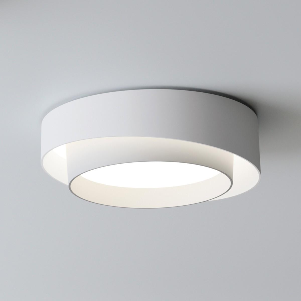 Vibia Centric 5700 Wand- / Deckenleuchte, weiß matt