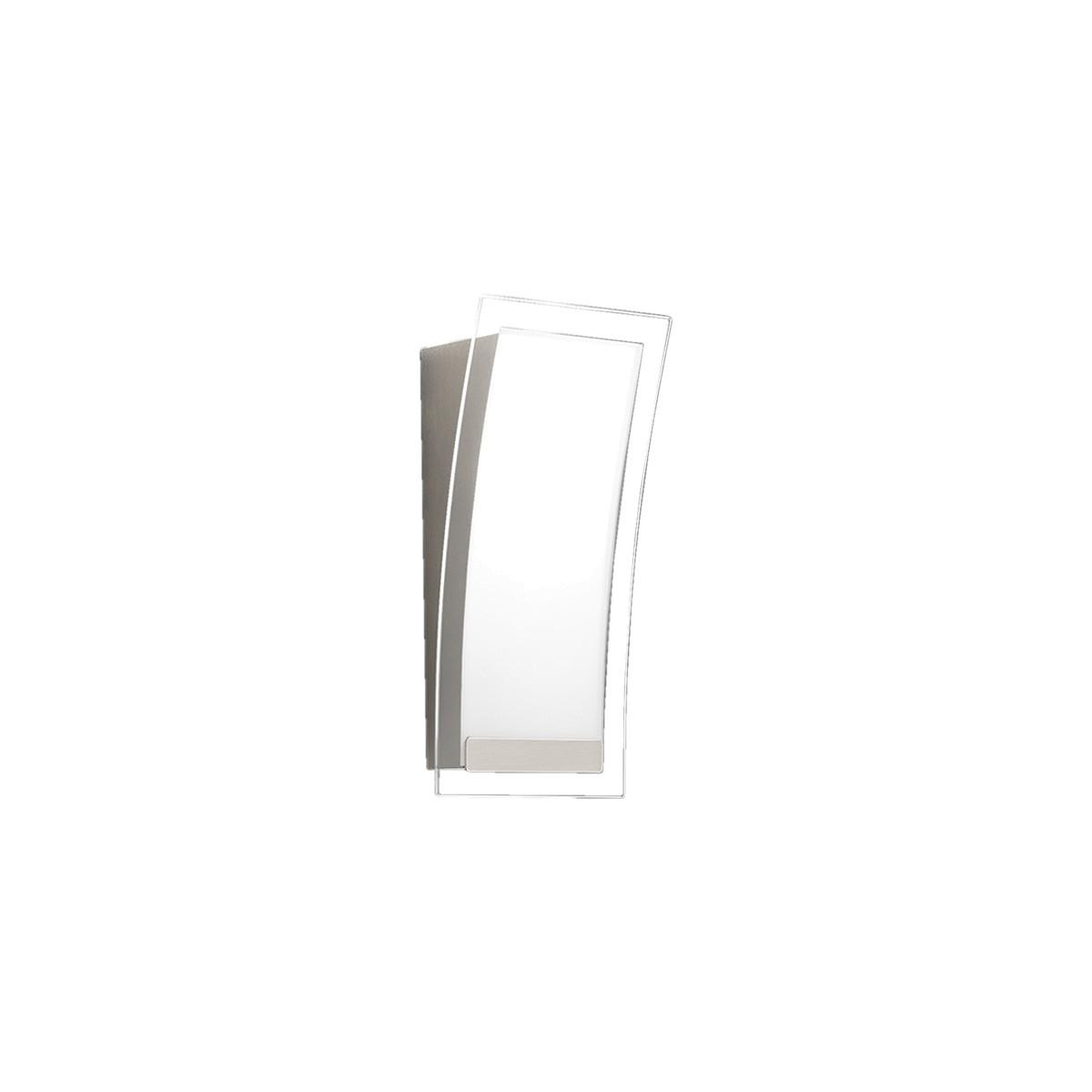 Grossmann Beam LED Wandleuchte, Nickel matt