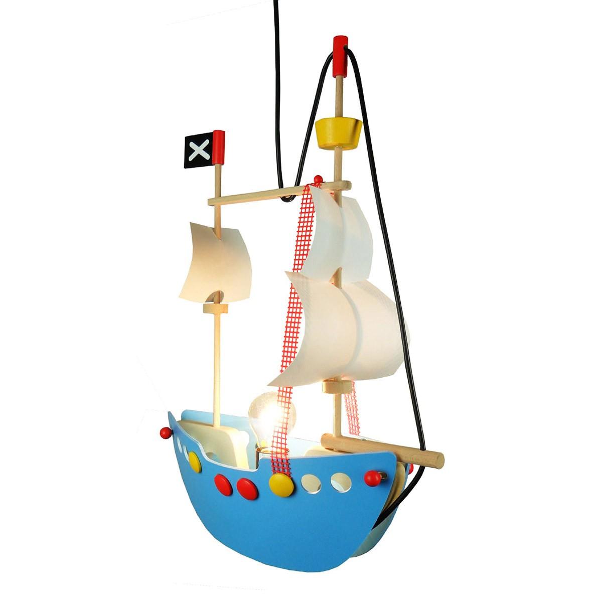 Niermann Standby Piratenschiff Pendelleuchte, mit Aufhängung