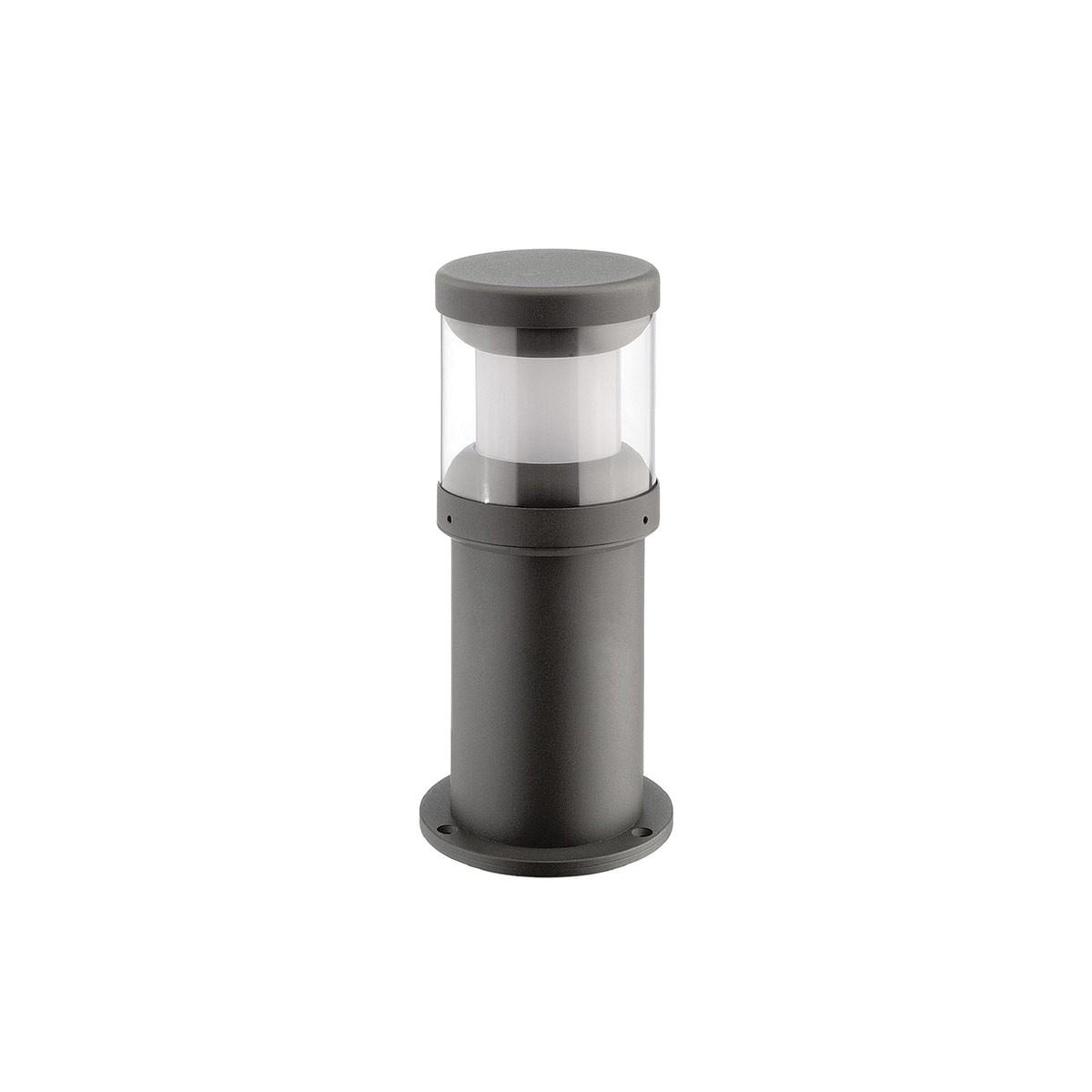 LCD Außenleuchten 1280/1290 LED-Pollerleuchte, graphit