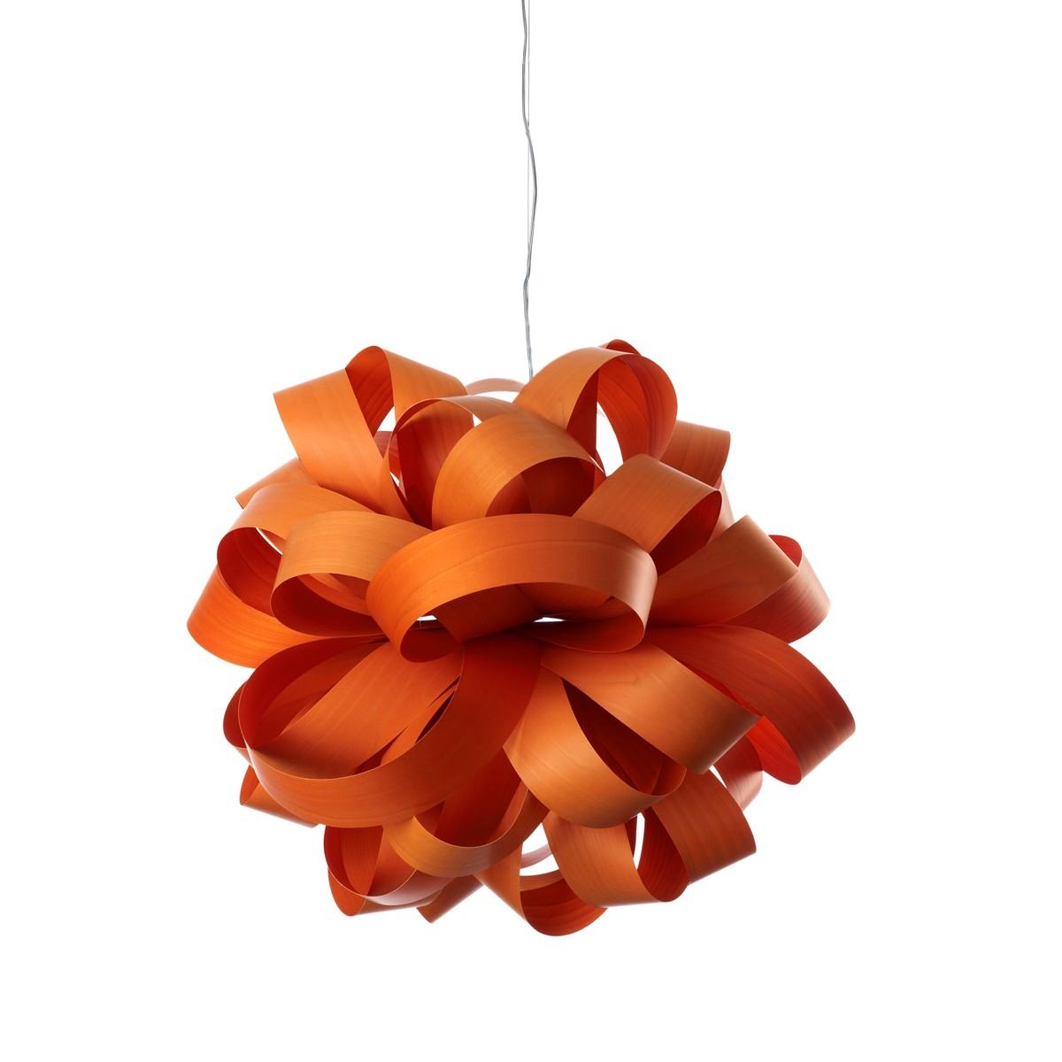 LZF Lamps Agatha Ball Pendelleuchte, orange
