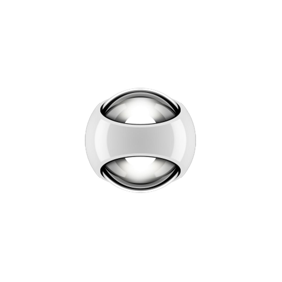 Occhio Sito verticale Volt C80 Wandleuchte, 2700 K, weiß glänzend