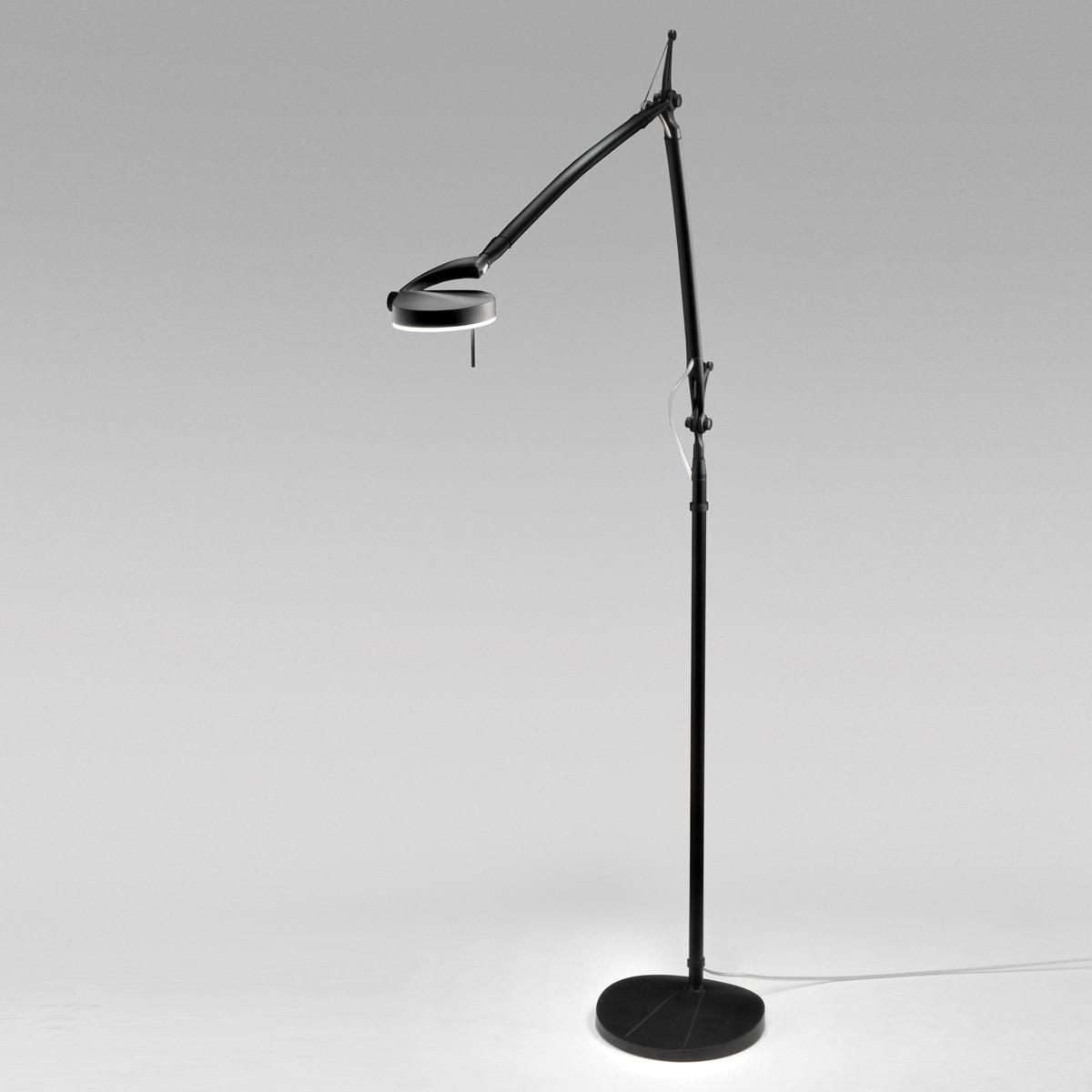 Milan Perceval LED Stehleuchte, schwarz lackiert