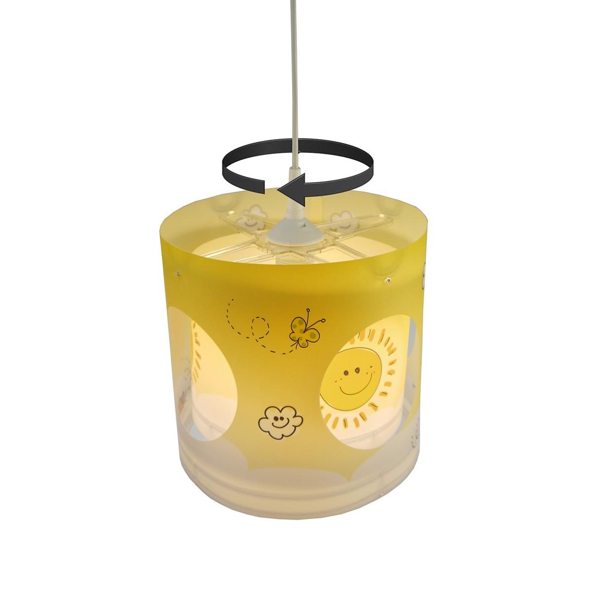 Niermann Standby Sunny Pendelleuchte mit Solarantrieb, mit Solarantrieb für inneren Lampenschirm