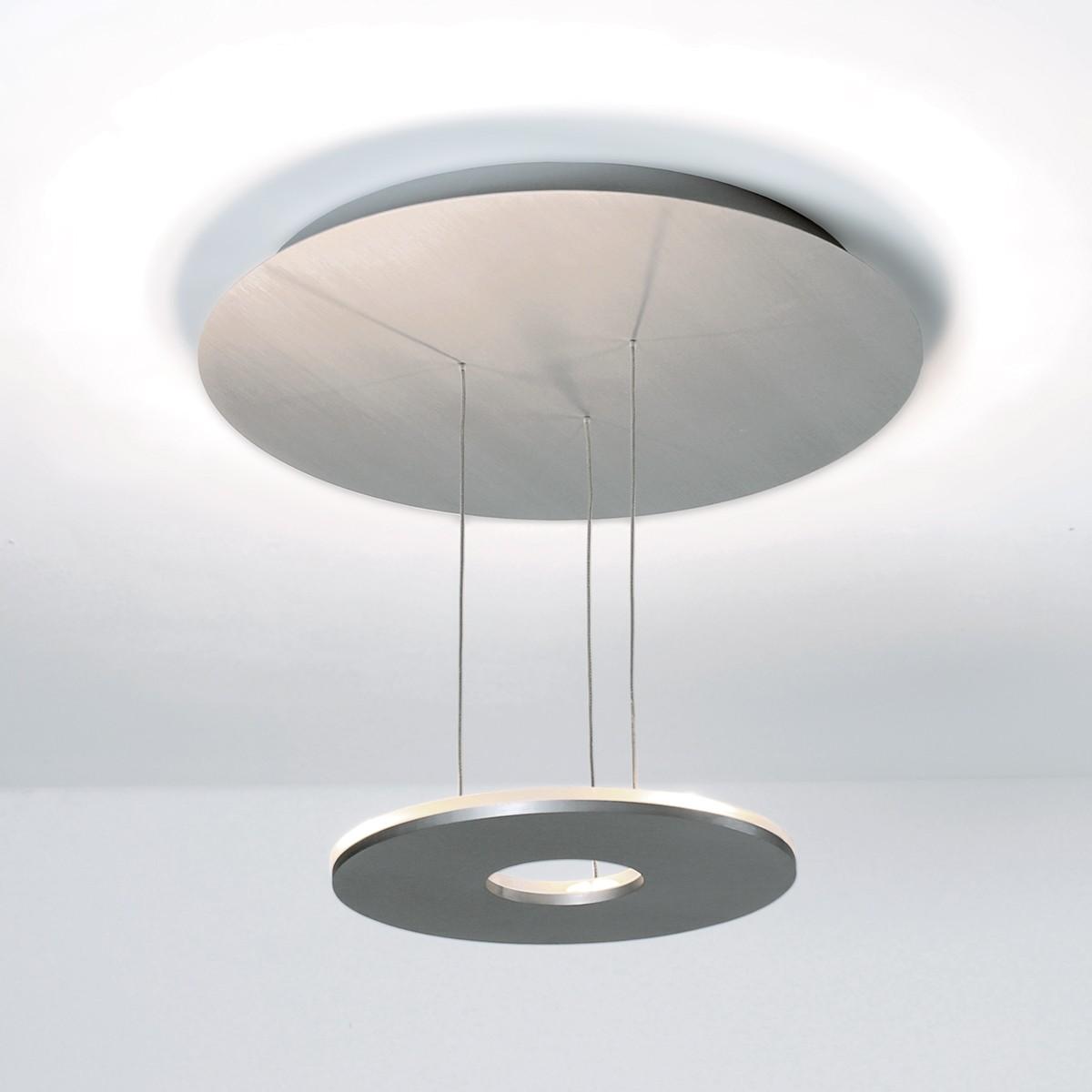 Bopp Saturn Deckenleuchte, Aluminium matt, extern dimmbar